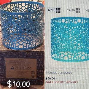 Partylite Candle Sleeve
